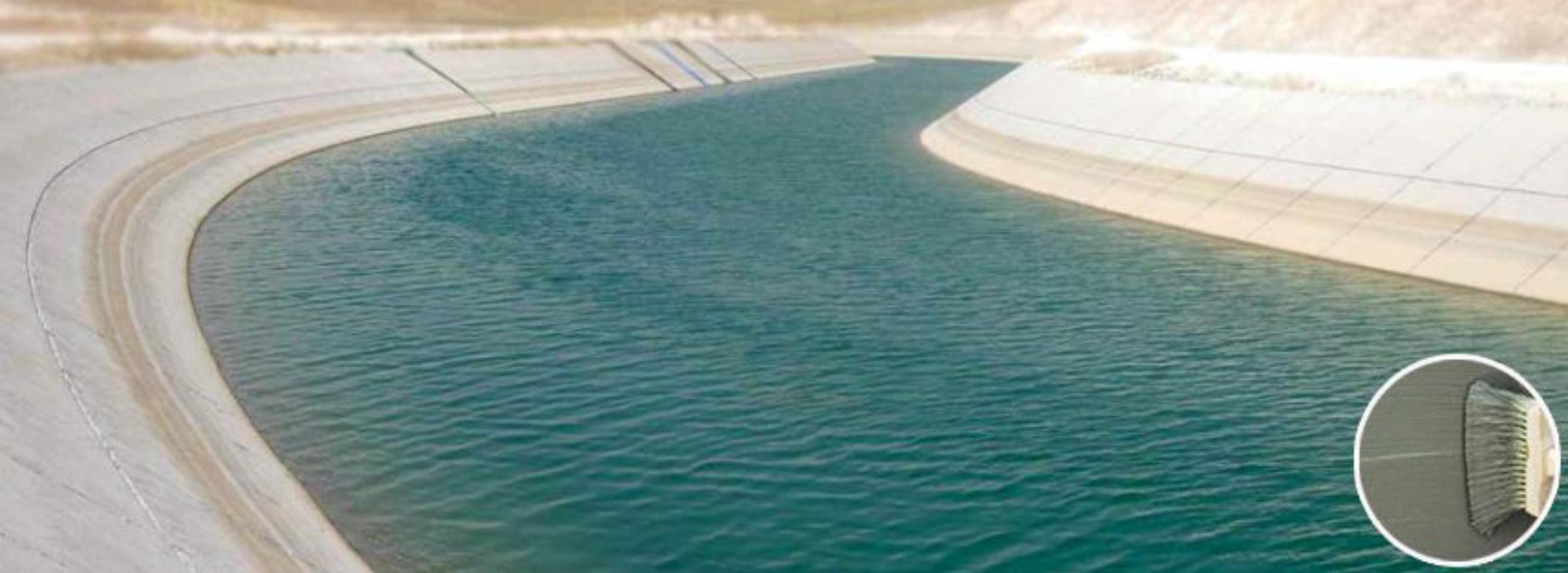آب بند استخر , آب بند مخازن بتنی آب , آب بند چاله آسانسور